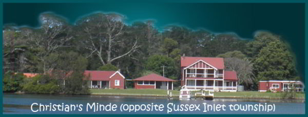 Christian's Minde opposite Sussex Inlet township