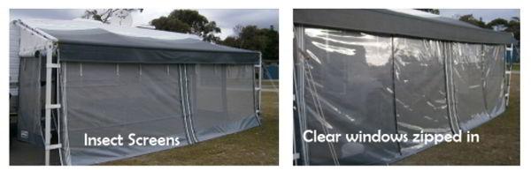 Annexe clear windows