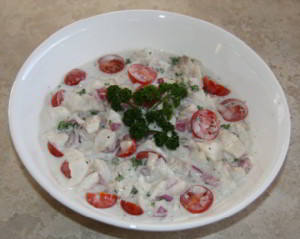 MarinatedFishCoconutCream