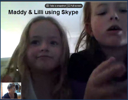 Skyping Family