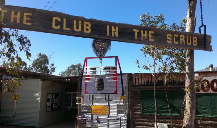 Club in the Scrub