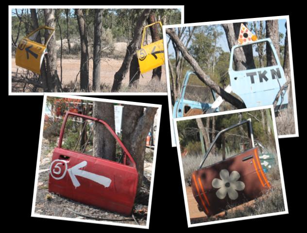 Got a car door to spare? It'll find a home in Lightning Ridge...