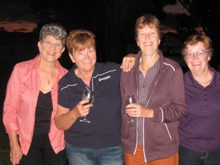 Marg, Marg, Jan and Marg (at Mudgee)
