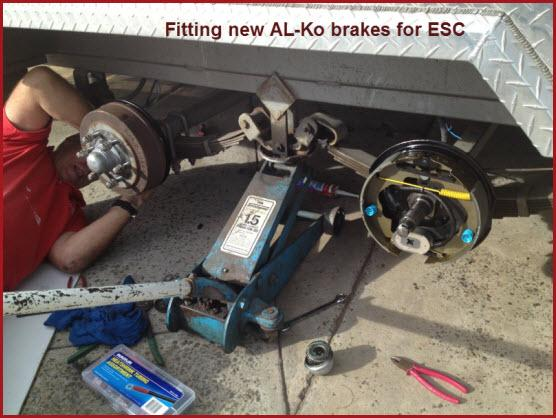 FittingAlKOBrakes